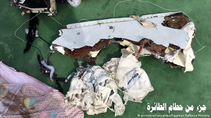 Ägypten EgyptAir Flug MS804 (picture-alliance/dpa/Egyptian Defence Ministry)