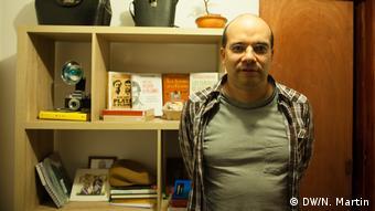 Kolumbien Gustavo Duncan, Buchautor und Politikwissenschaftler (DW/N. Martin)