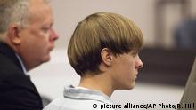USA Dylann Roof Verurteilung Charleston Shooting