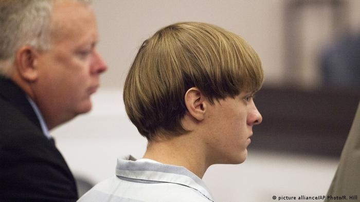 USA Dylann Roof Verurteilung Charleston Shooting (picture alliance/AP Photo/R. Hill)
