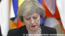 Belgien | EU-Gipfel | Theresa May