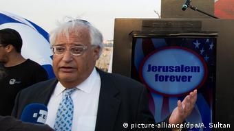 USA   David Friedman soll Botschafter für Israel werden