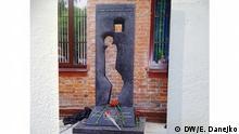 erstes Denkmal für die Opfer der Euthanasie in der Sowjetunion. das Denkmal steht in Mogilev, Weißrussland