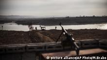 Irak Mossul Tigris Fluss