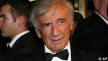 Schriftsteller Elie Wiesel in New York