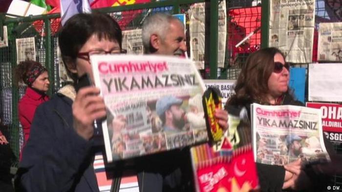 Fokus Europa Türkei Pressefreiheit (DW)