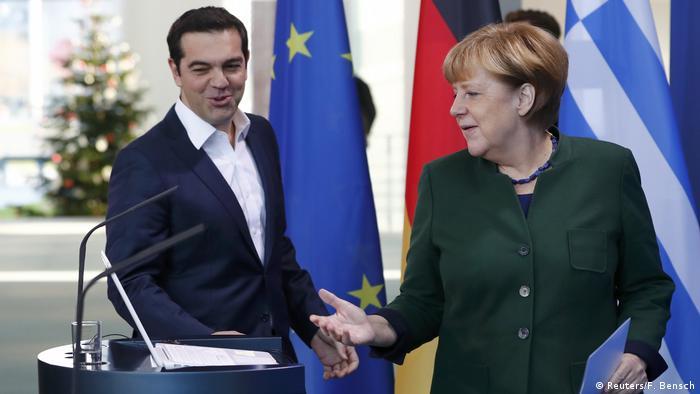 Deutschland Berlin Angela Merkel und Alexis Tsipras