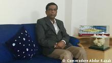 Titel: Commodore Abdur Razak Description: Commodore Abdur Razak talks about waste management in Bangladesh Keywords: Bangladesh, Commodore Abdur Razak, waste management Copyright: Commodore Abdur Razak