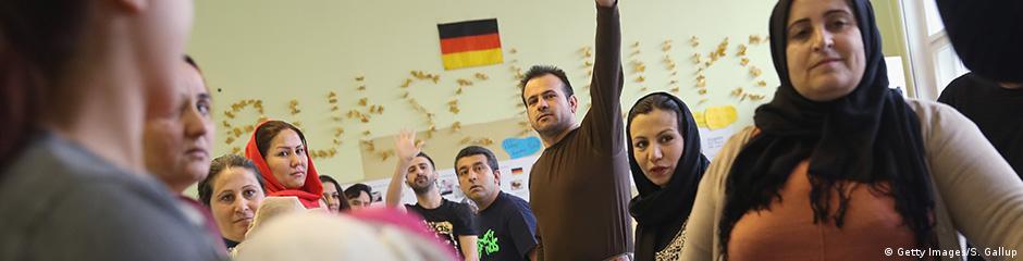 meinung über flüchtlinge in deutschland