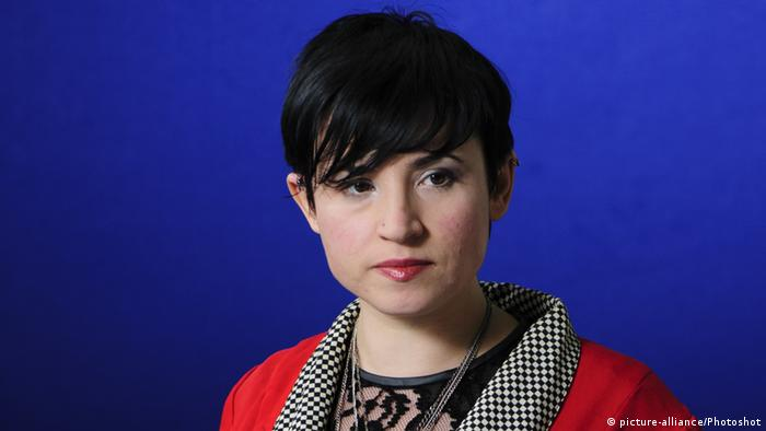 Laurie Penny Journalistin (Foto: picture-alliance/Photoshot)