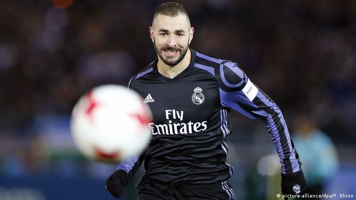 Japan Karim Benzema (picture-alliance/dpa/Y. Shino)
