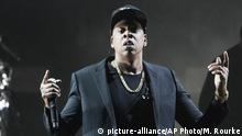 USA Jay Z in einem Konzert der demokratischen Kampagne (picture-alliance/AP Photo/M. Rourke)