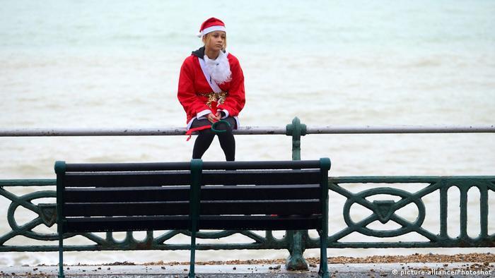 Грустный Санта