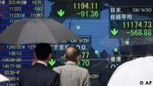 BdT Börse in Tokio auf Talfahrt