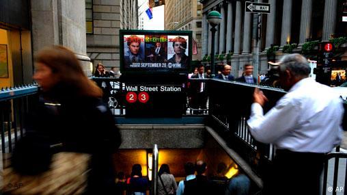USA Finanzkrise Rettungspaket abgelehnt