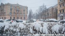 Russland Winter in Petrozavodsk