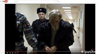 Юрий Дмитриев в суде