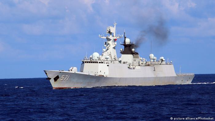 China Manöver im Südchinesischen Meer