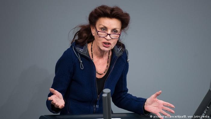 Deutschland Bundestag- Ulla Jelpke