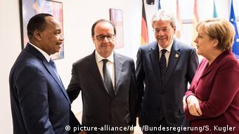 Belgien EU- Fünfertreffen zu Migrationspartnerschaft in Brüssel