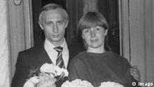 Wladimir Putin mit Ehefrau Lyudmila und Tochter Katya 1985