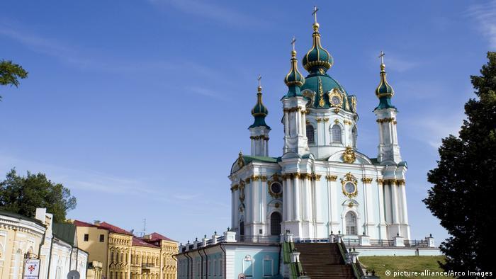 Ukraine St.-Andreas-Kirche in Kiew
