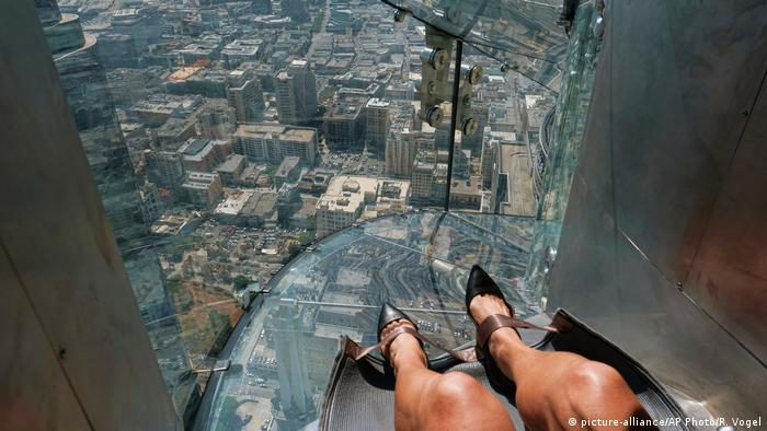 Bildergalerie | Attraktionen auf Wolkenkratzern | Sky Slide U.S. Bank Tower
