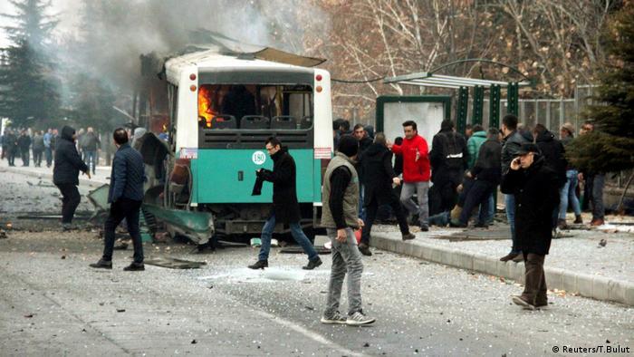 Türkei Bus Explosion Kayseri