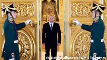 Wladimir Putin im Kreml