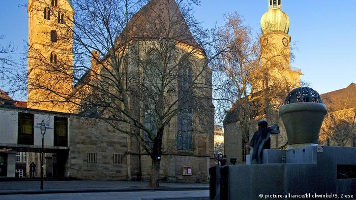 Deutschland Reinoldikirche in Dortmund