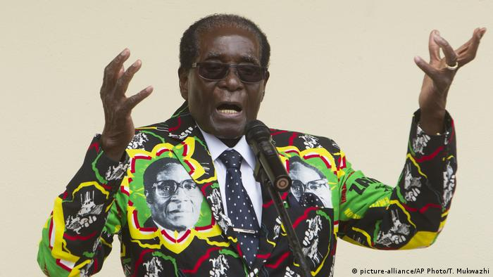 Zimbabwe Robert Mugabe (picture-alliance/AP Photo/T. Mukwazhi)