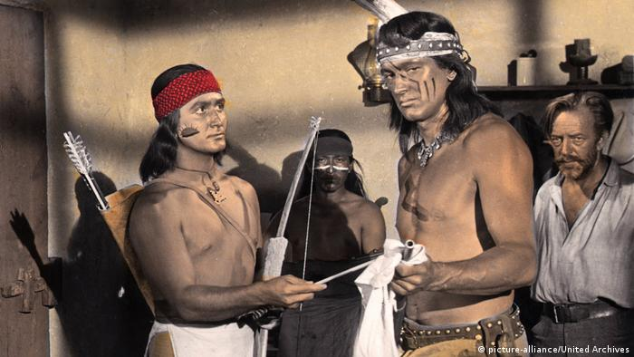 Film still 'Taza, Son of Cochise' (picture-alliance/United Archives)