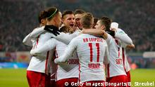 Fußball Bundesliga RB Leipzig vs. Hertha BSC