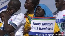 Senegal Proteste gegen Nicht-Anerkennung der Wahl in Gambia