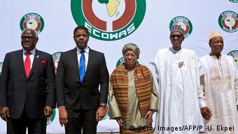 Nigeria Ecowas-Treffen (Getty Images/AFP/P.-U. Ekpei)