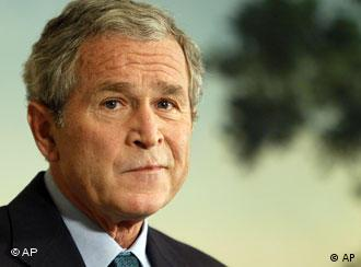 President Bush finishes his statement about the economic bailout bill and financial crisis, Tuesday, Sept. 30, 2008
