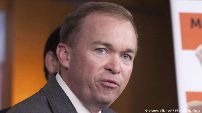 Mick Mulvaney (picture-alliance/ P Photo/H. Hamburg)