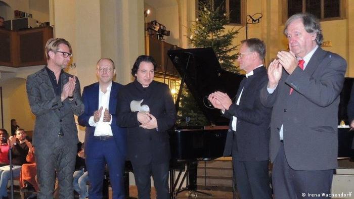 Fazıl Say 2016 yılında Almanya'da Beethoven Ödülü'ne layık görülmüştü