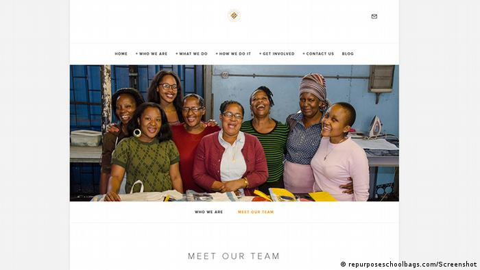 Screenshot repurposeschoolbags.com (repurposeschoolbags.com/Screenshot)