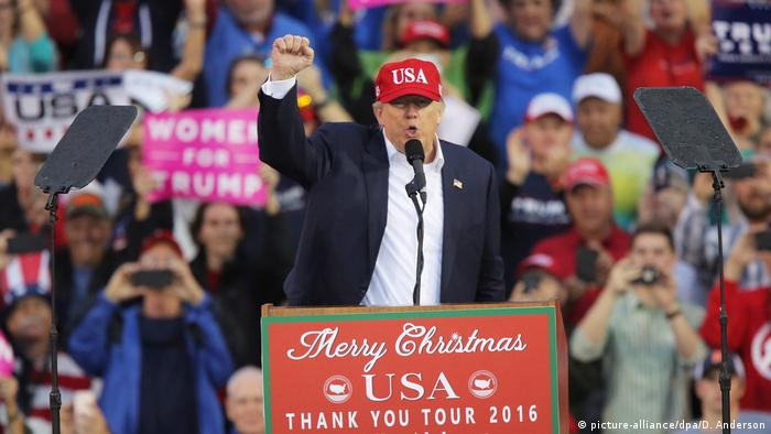 USA Donald Trump 'Thank You Tour' (picture-alliance/dpa/D. Anderson)