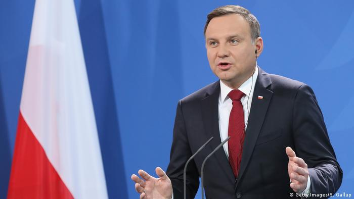 Andrzej Duda (Getty Images/S. Gallup)