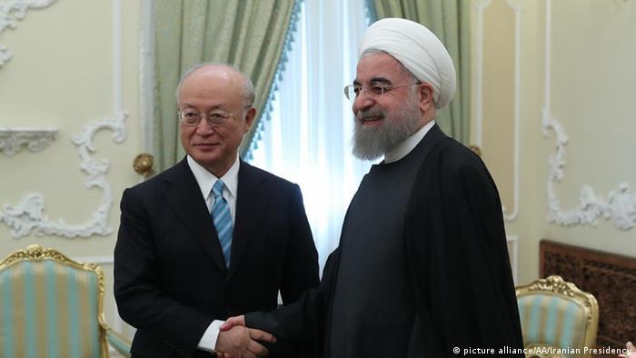 Amano meets Rouhani in Tehran