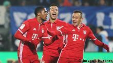 Deutschland Darmstadt 98 gegen FC Bayern München