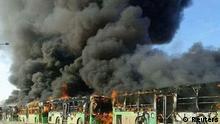 Evakuierungsbusse in Syrien angegriffen