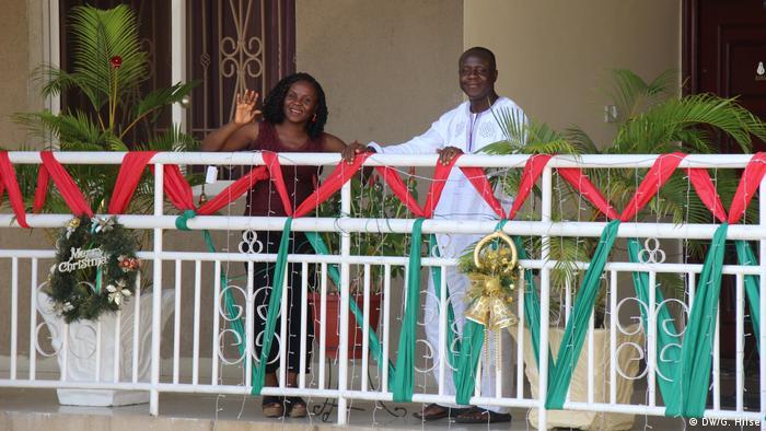 Nigeria Weihnachten - Dekorateurin und Eventmanagerin Adejoke Fasubaa in Lagos (DW/G. Hilse)