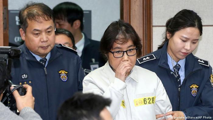 Südkorea Prozess Choi Soon-sil