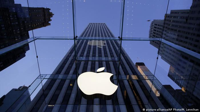 Apple shop in New York (picture-alliance/AP Photo/M. Lennihan)