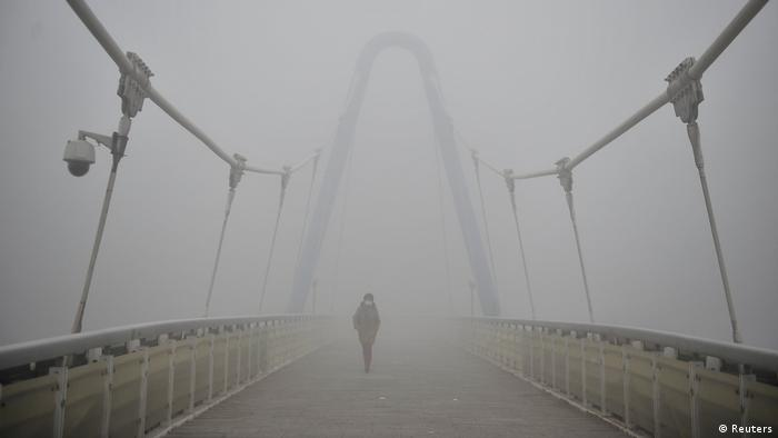 China Smog in Tianjin (Reuters)