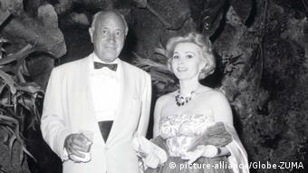 Ο Κόνραντ Χίλτον με τη Ζα Ζα Γκαμπόρ