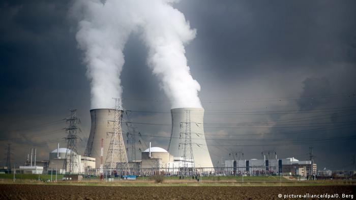 Belgien Atomkraftwerk Doel